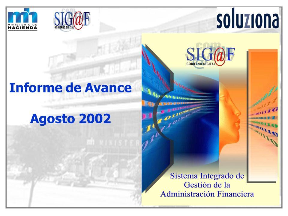 Informe de Avance Agosto 2002