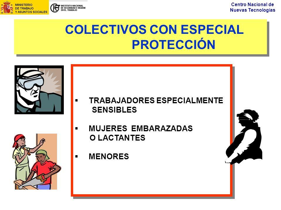 COLECTIVOS CON ESPECIAL PROTECCIÓN