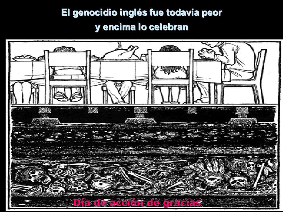 El genocidio inglés fue todavía peor y encima lo celebran