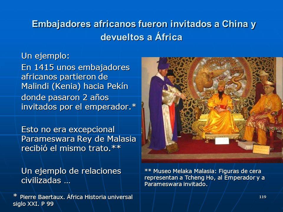 Embajadores africanos fueron invitados a China y devueltos a África
