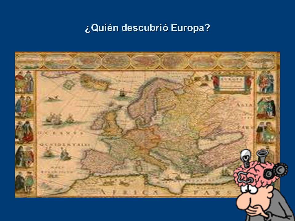¿Quién descubrió Europa