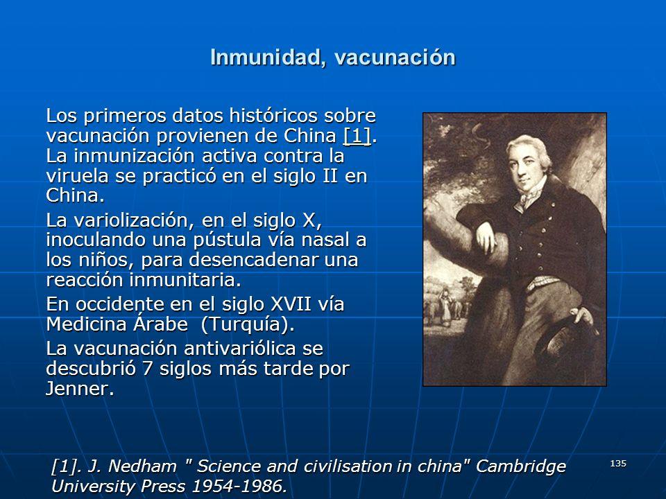 Inmunidad, vacunación