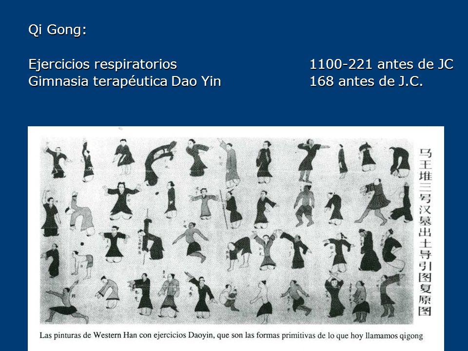 Qi Gong: Ejercicios respiratorios 1100-221 antes de JC.
