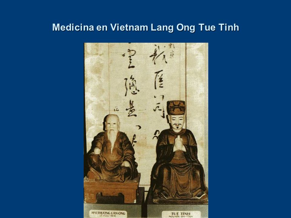 Medicina en Vietnam Lang Ong Tue Tinh