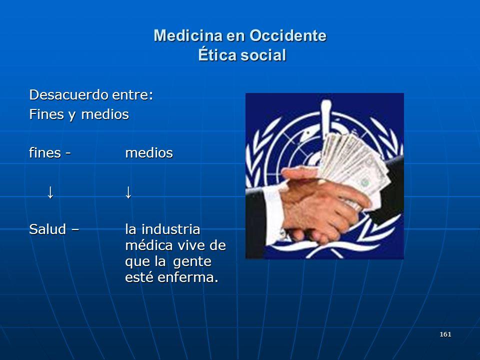 Medicina en Occidente Ética social