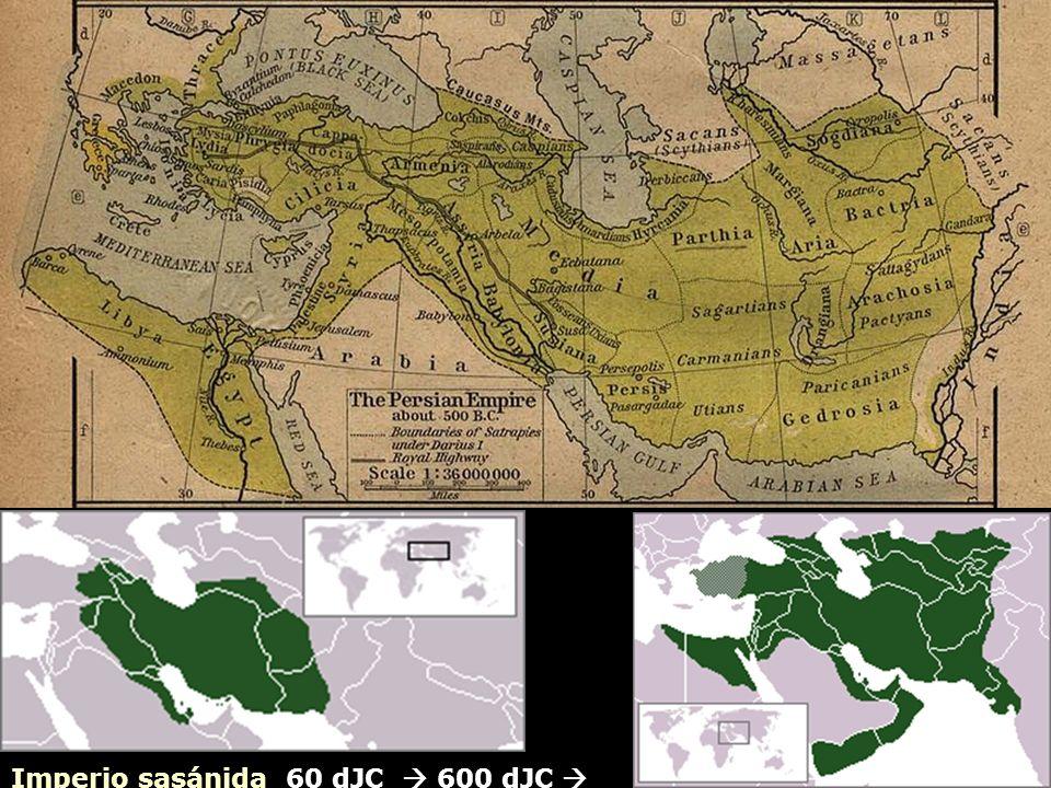 Imperio sasánida 60 dJC  600 dJC 