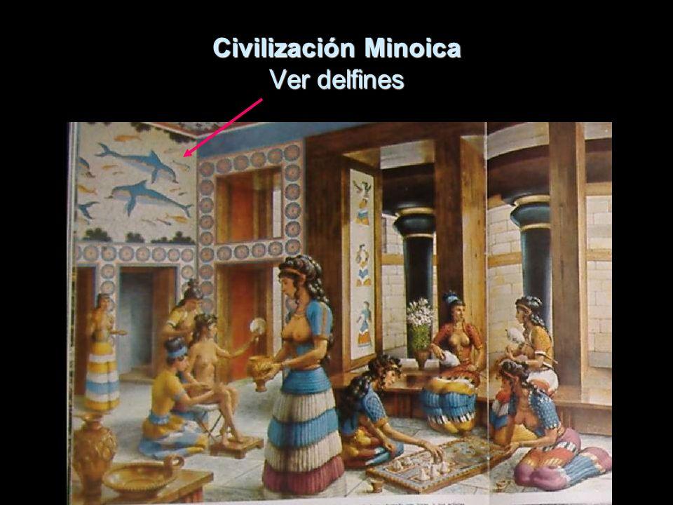 Civilización Minoica Ver delfines