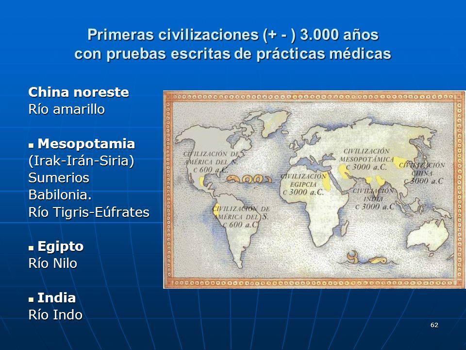 Primeras civilizaciones (+ - ) 3