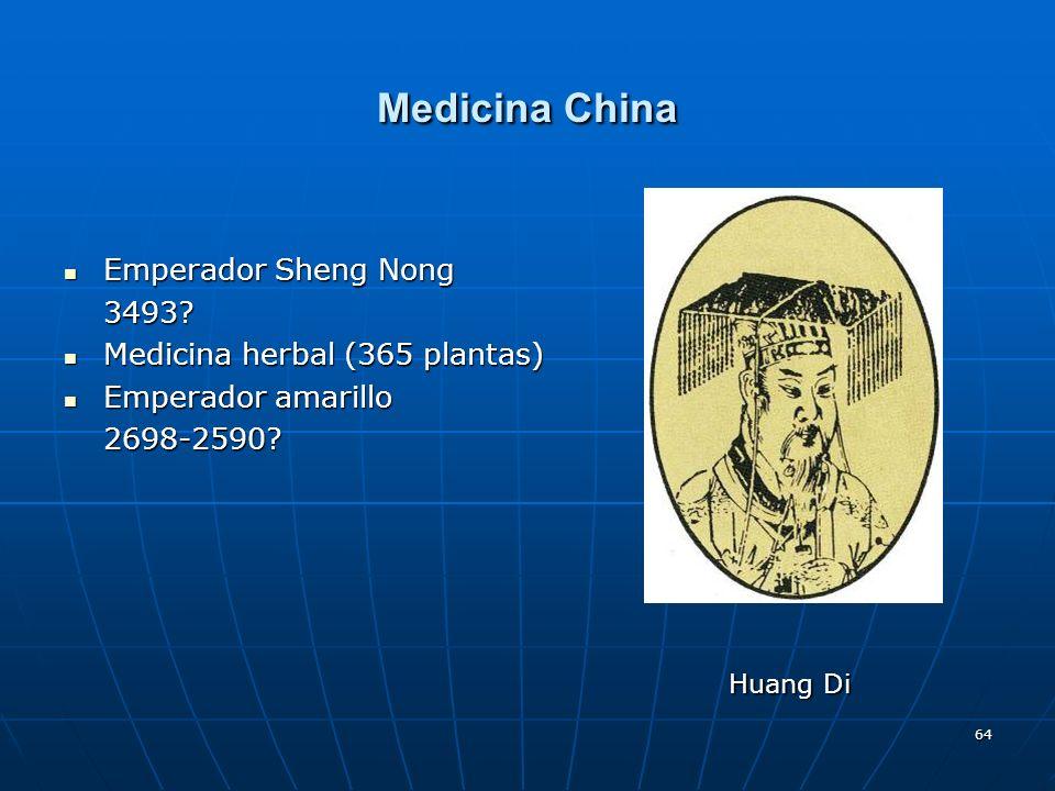 Medicina China Emperador Sheng Nong 3493