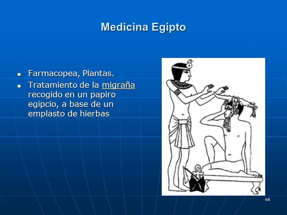 Medicina Egipto Farmacopea, Plantas.