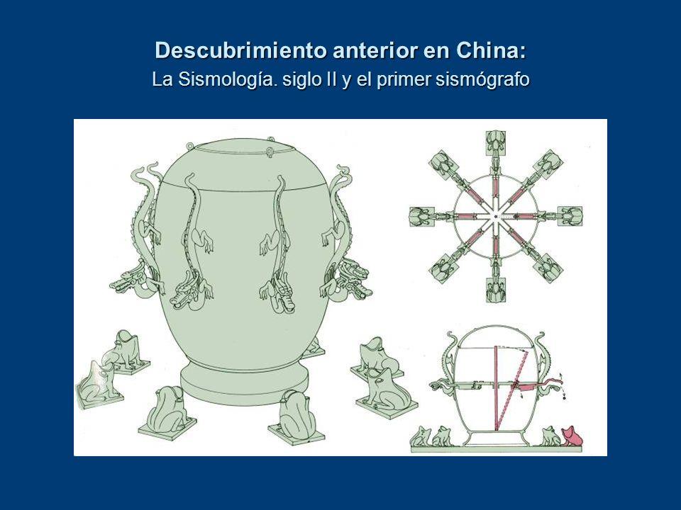 Descubrimiento anterior en China: La Sismología