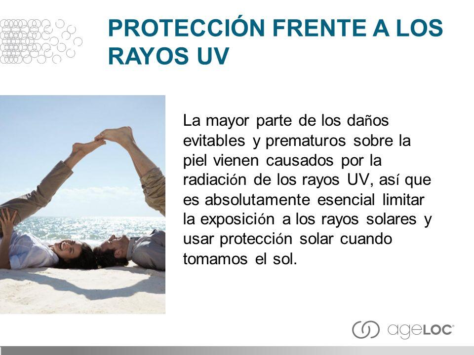 PROTECCIÓN FRENTE A LOS RAYOS UV