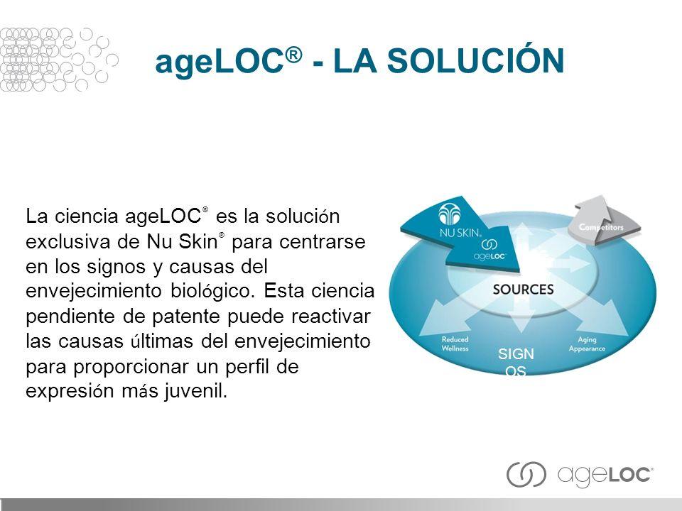 ageLOC® - LA SOLUCIÓN