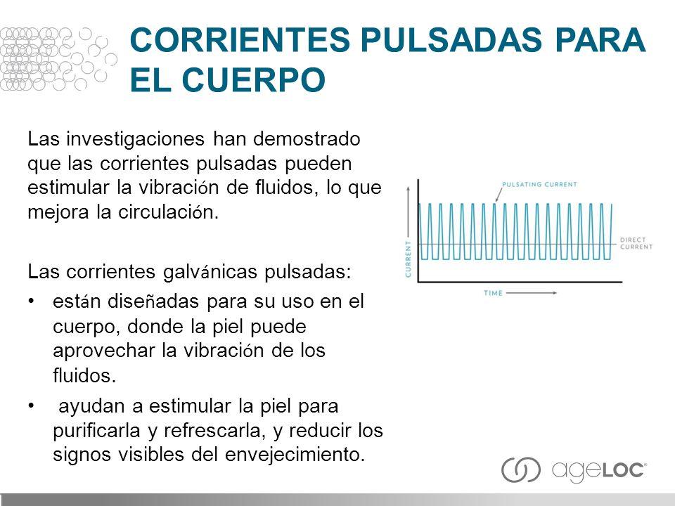 CORRIENTES PULSADAS PARA EL CUERPO