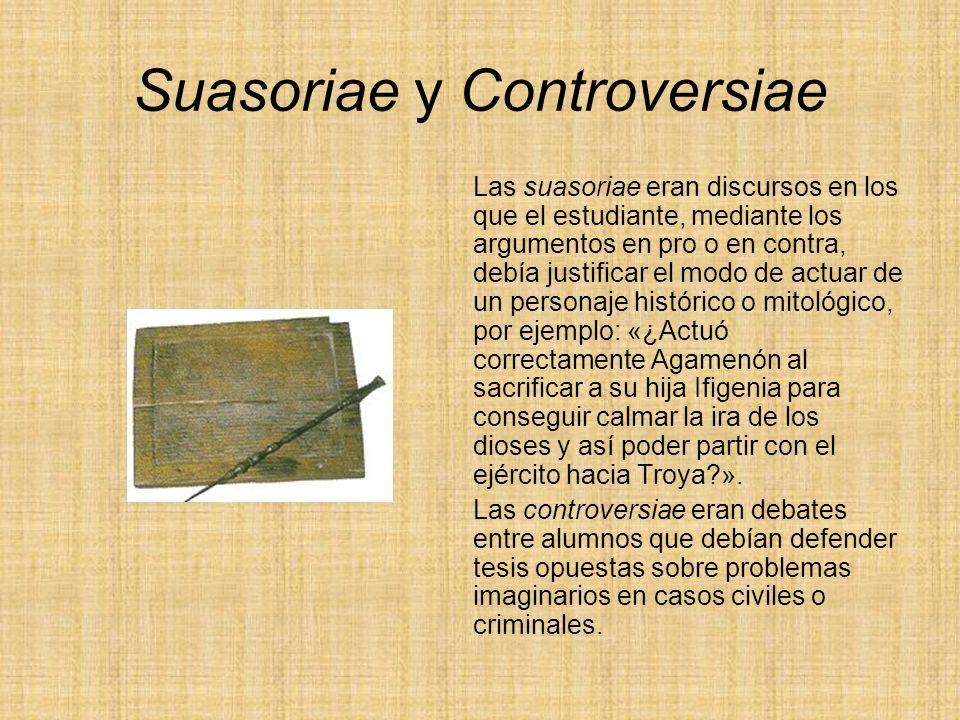 Suasoriae y Controversiae