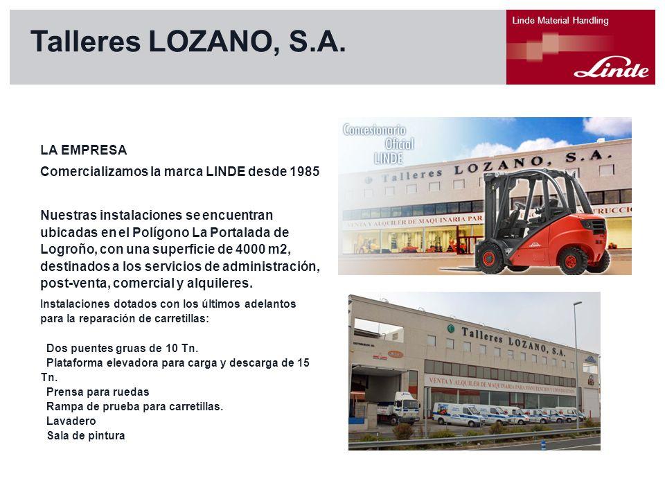 Talleres LOZANO, S.A. LA EMPRESA