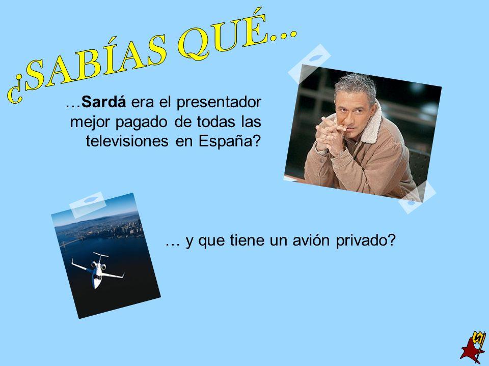 … y que tiene un avión privado