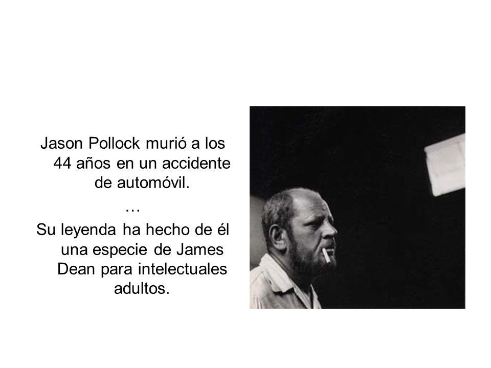 Jason Pollock murió a los 44 años en un accidente de automóvil.