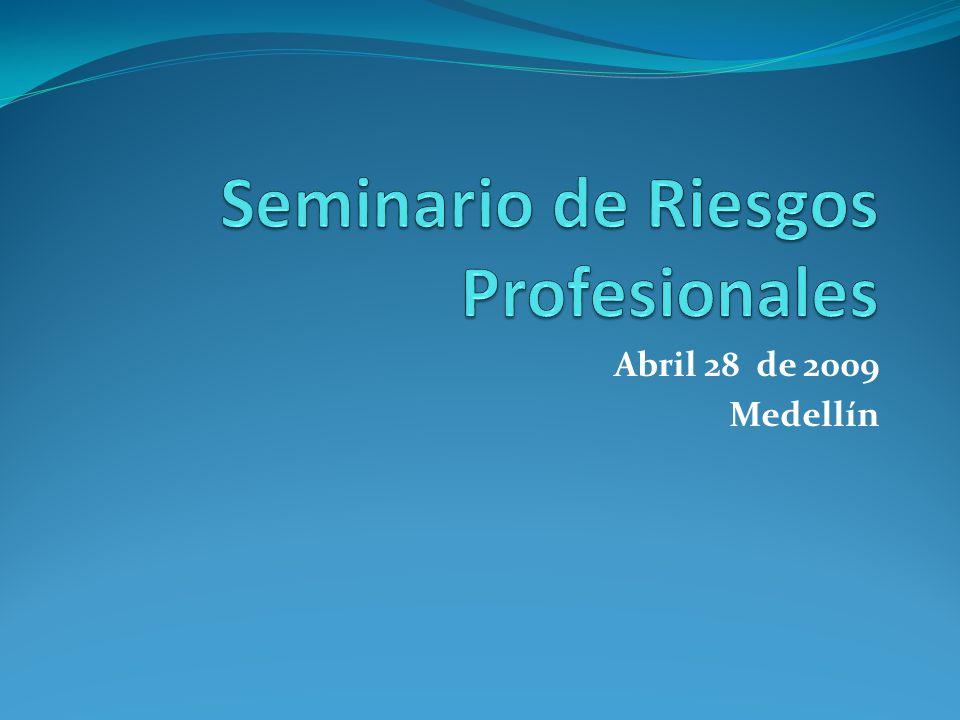 Seminario de Riesgos Profesionales