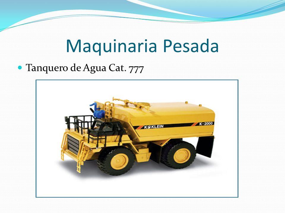 Maquinaria Pesada Tanquero de Agua Cat. 777