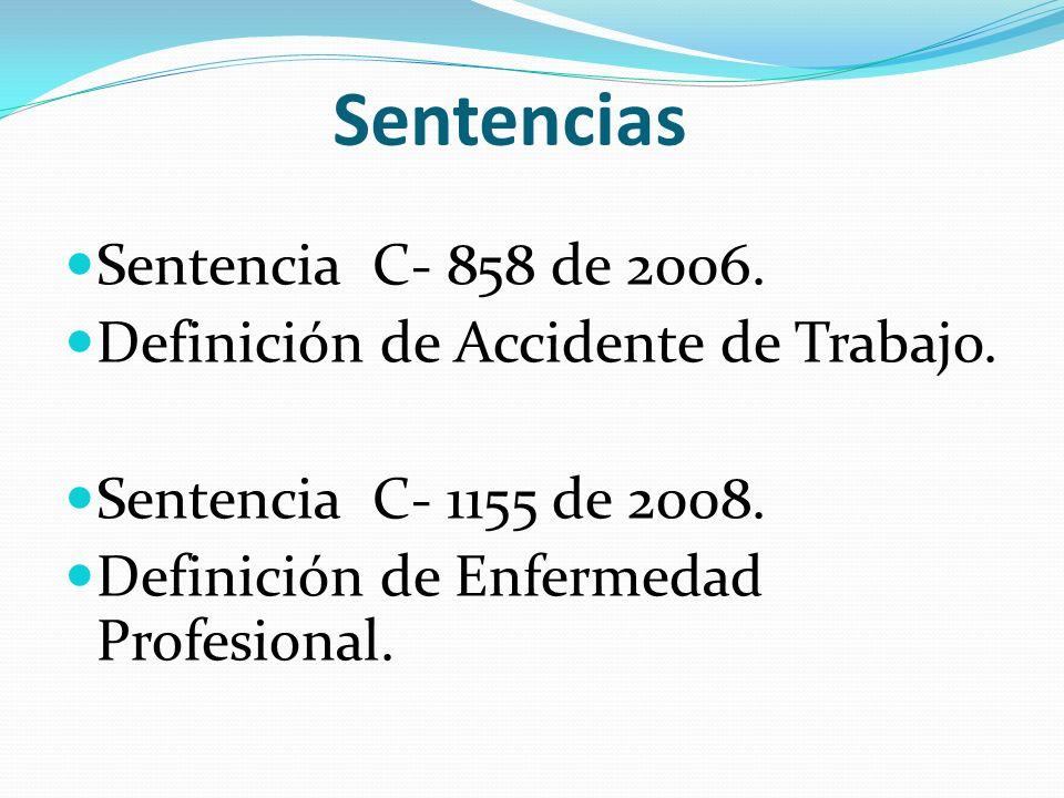 Sentencias Sentencia C- 858 de 2006.