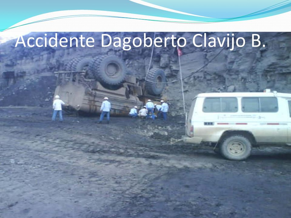 Accidente Dagoberto Clavijo B.
