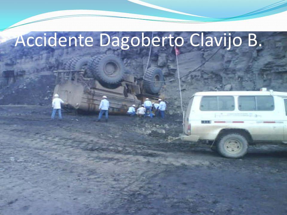 Accidente Dagoberto Clavijo B.
