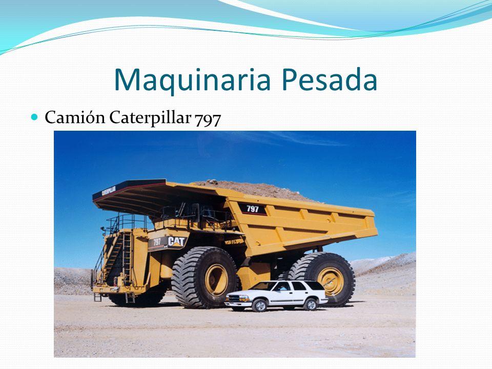 Maquinaria Pesada Camión Caterpillar 797