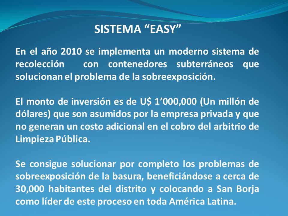 SISTEMA EASY