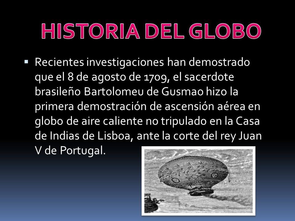 HISTORIA DEL GLOBO
