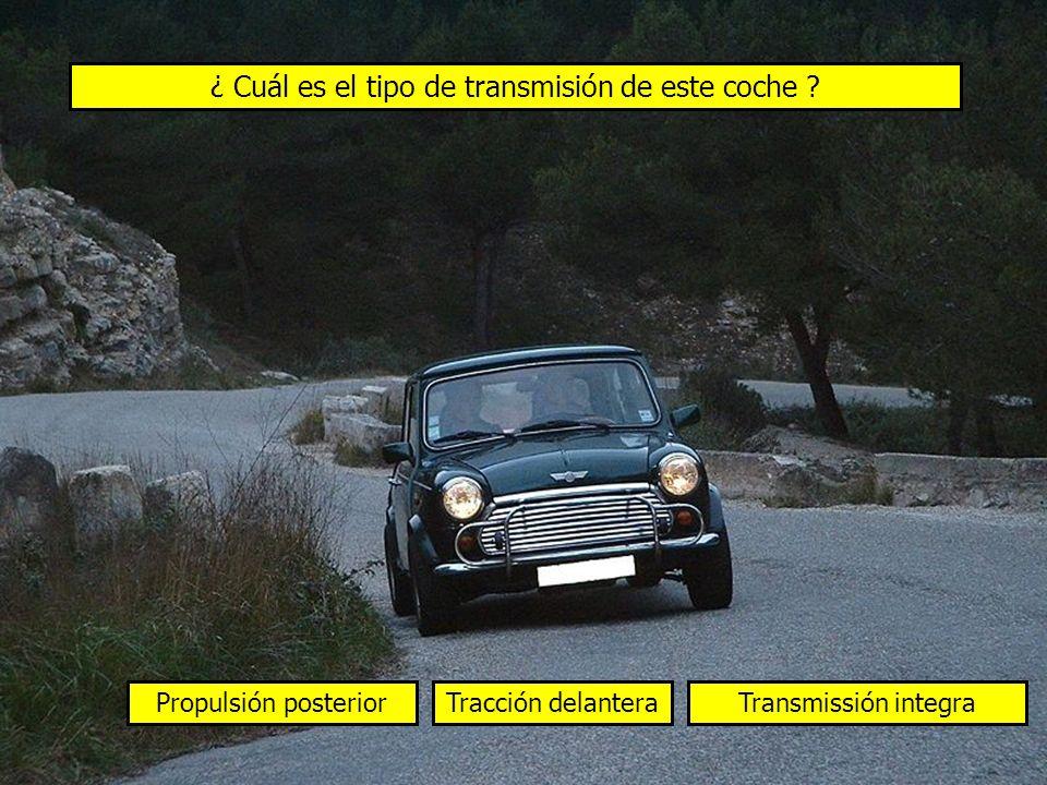 ¿ Cuál es el tipo de transmisión de este coche