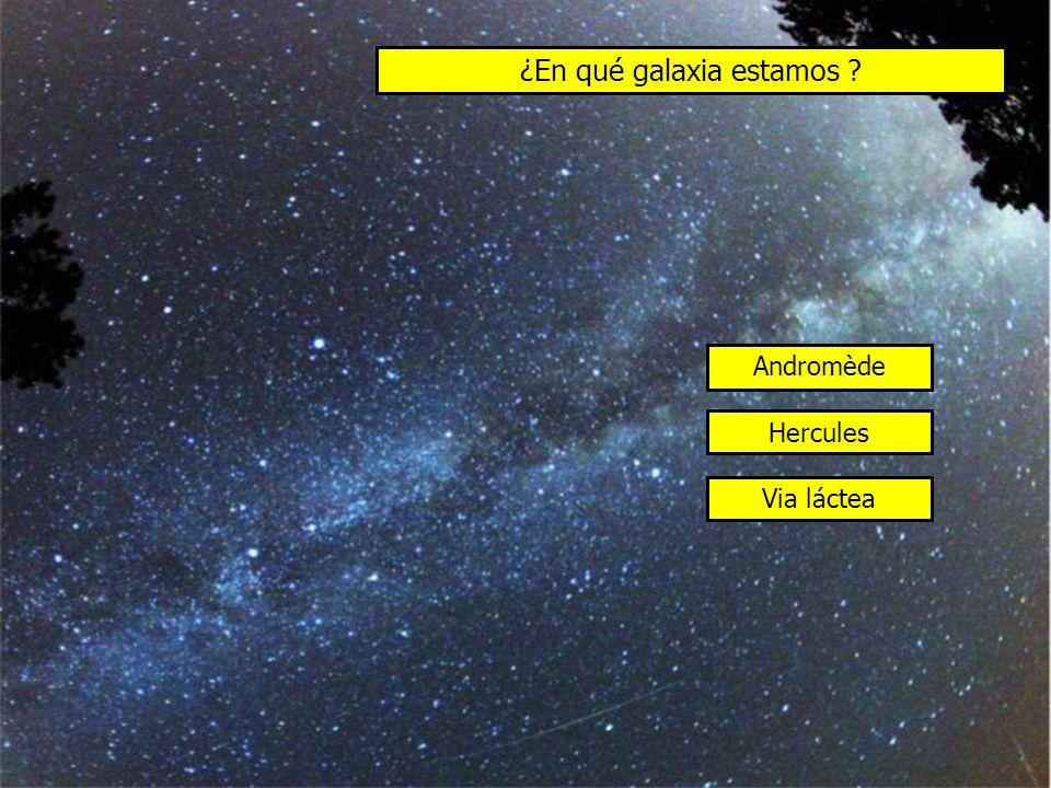 ¿En qué galaxia estamos