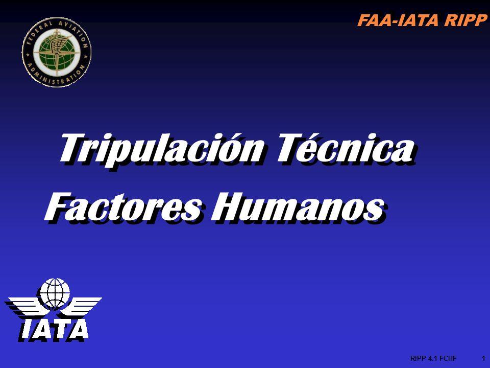 Tripulación Técnica Factores Humanos RIPP 4.1 FCHF