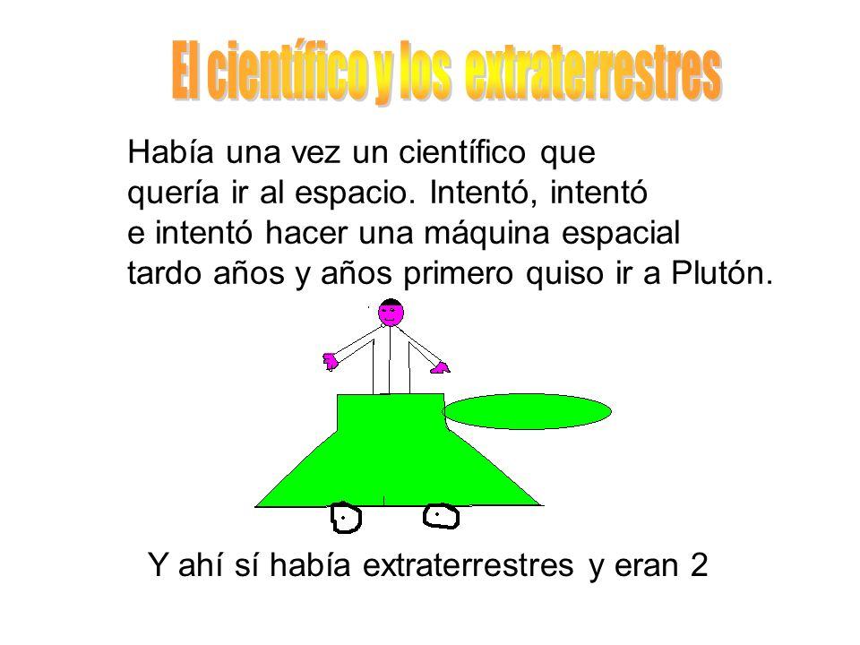 El científico y los extraterrestres