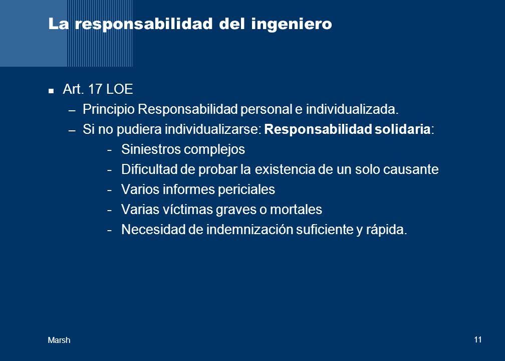 La responsabilidad del ingeniero