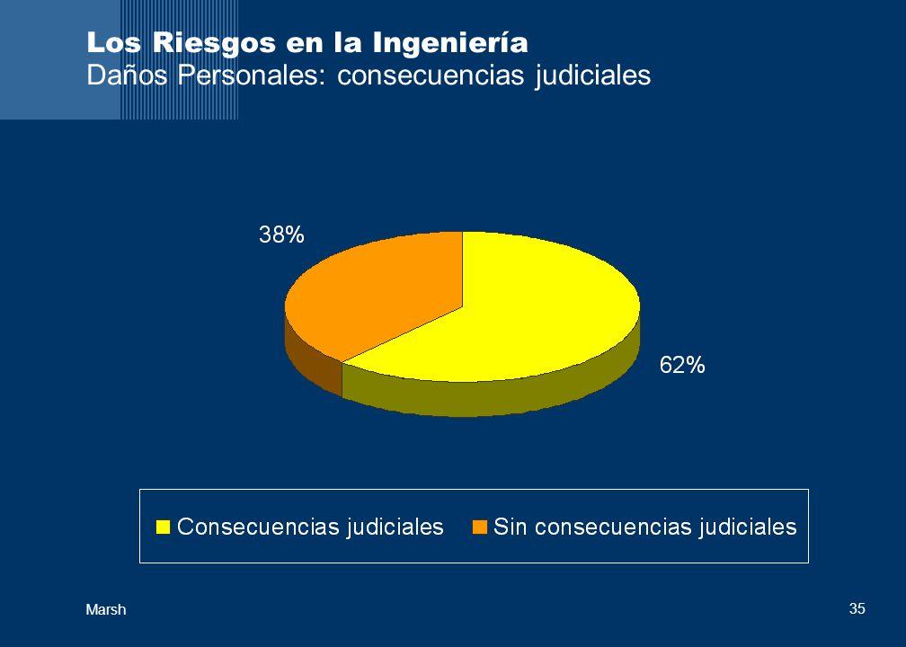 Los Riesgos en la Ingeniería Daños Personales: consecuencias judiciales