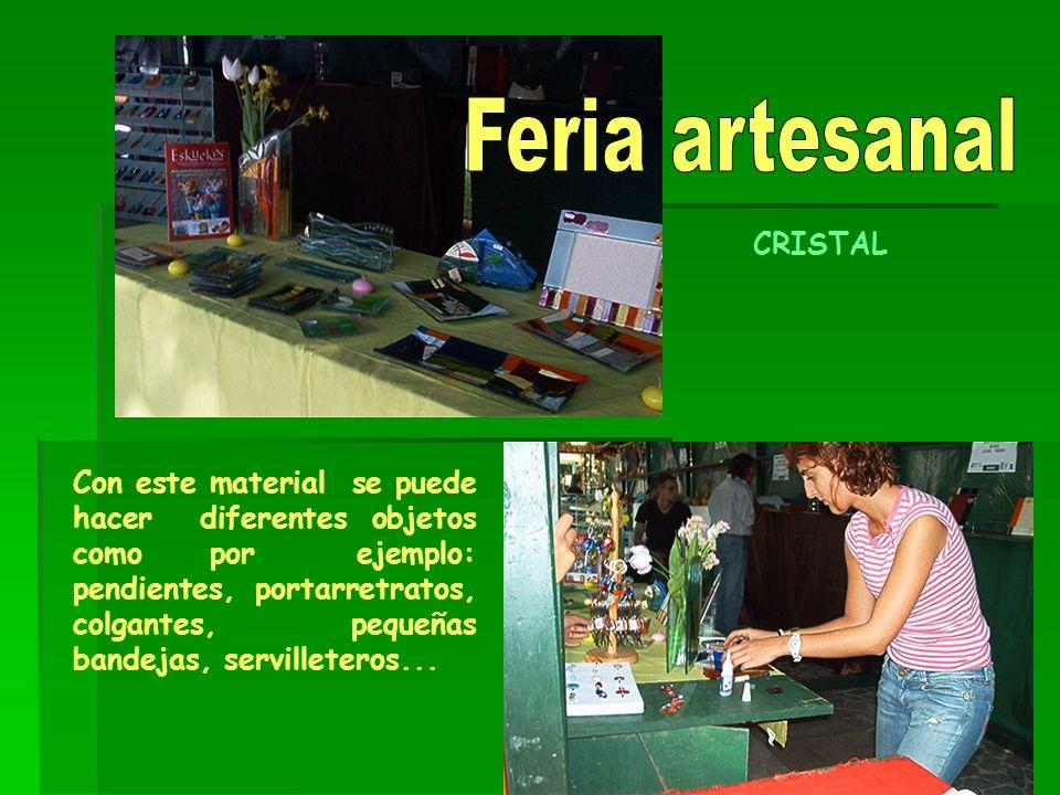 Feria artesanal CRISTAL.
