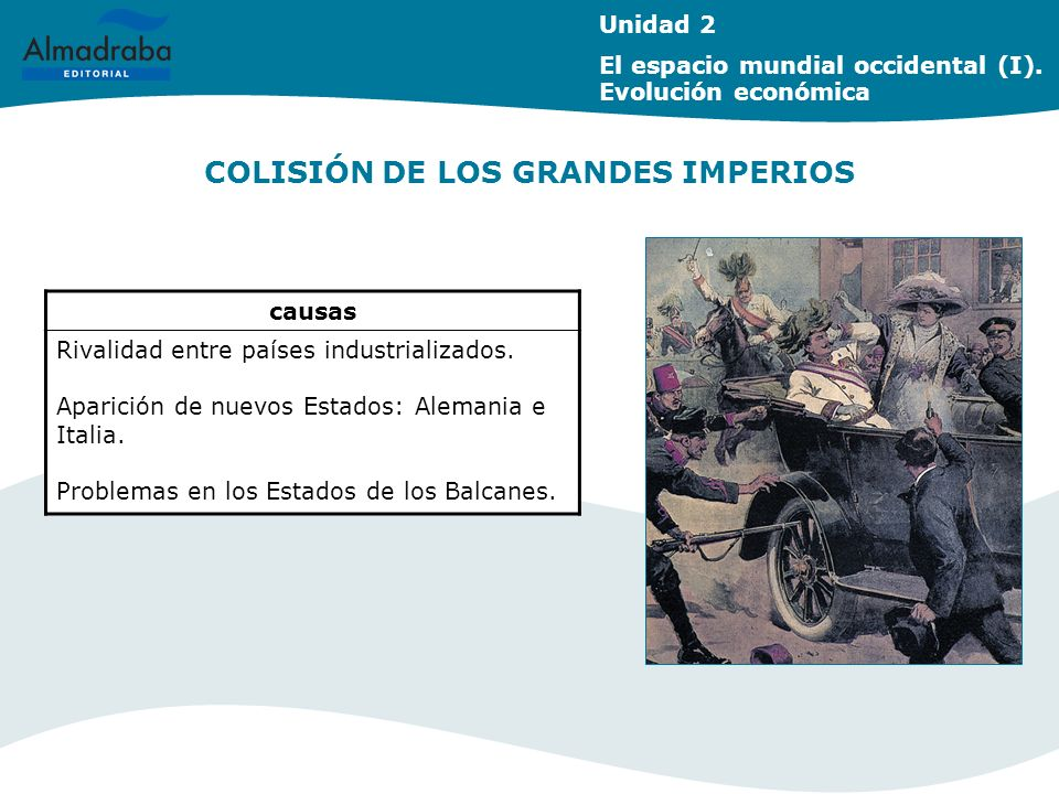 COLISIÓN DE LOS GRANDES IMPERIOS