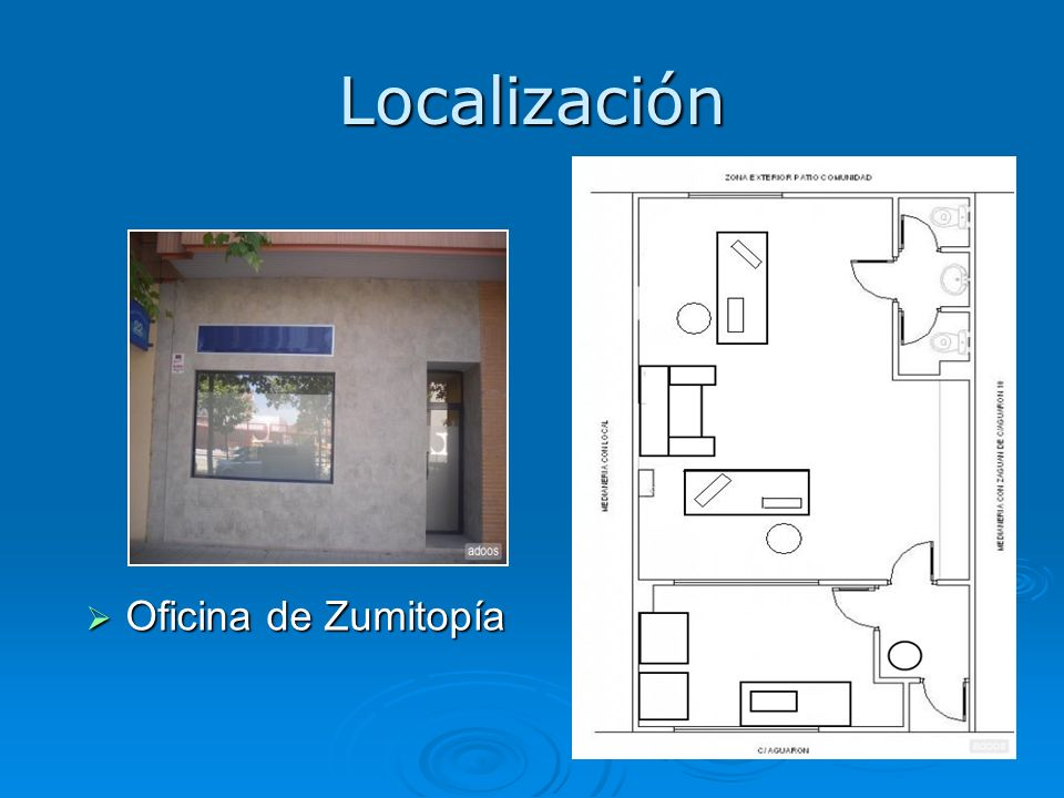 Localización Oficina de Zumitopía