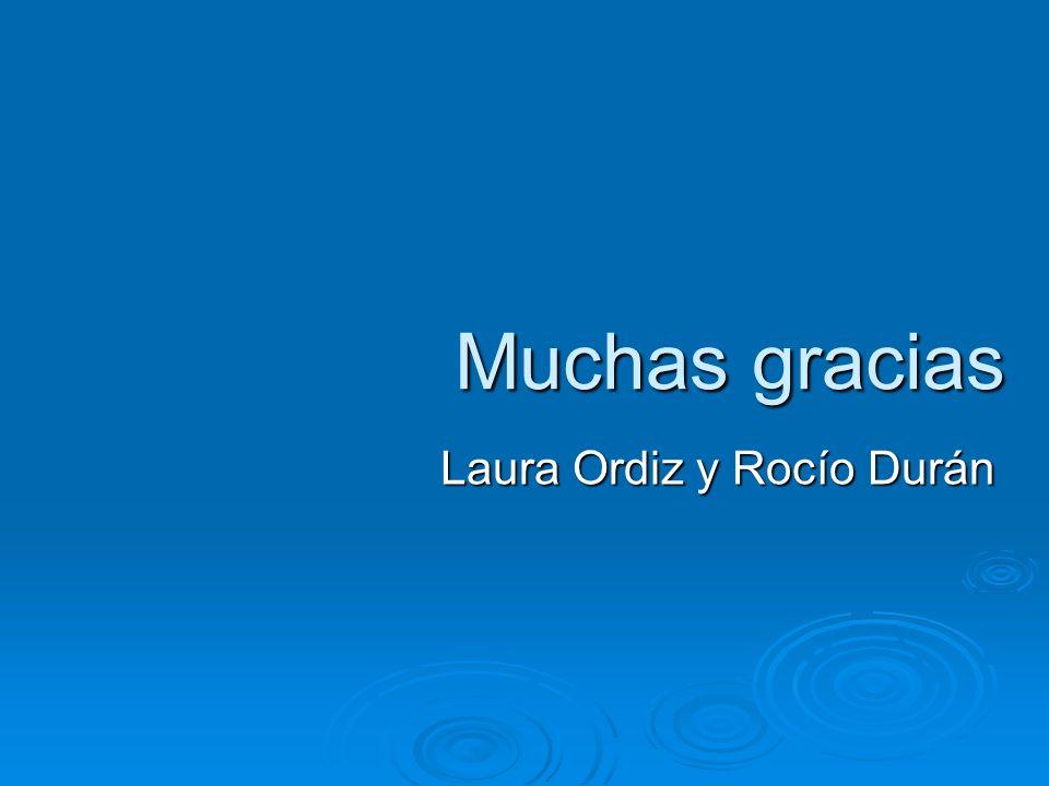 Laura Ordiz y Rocío Durán