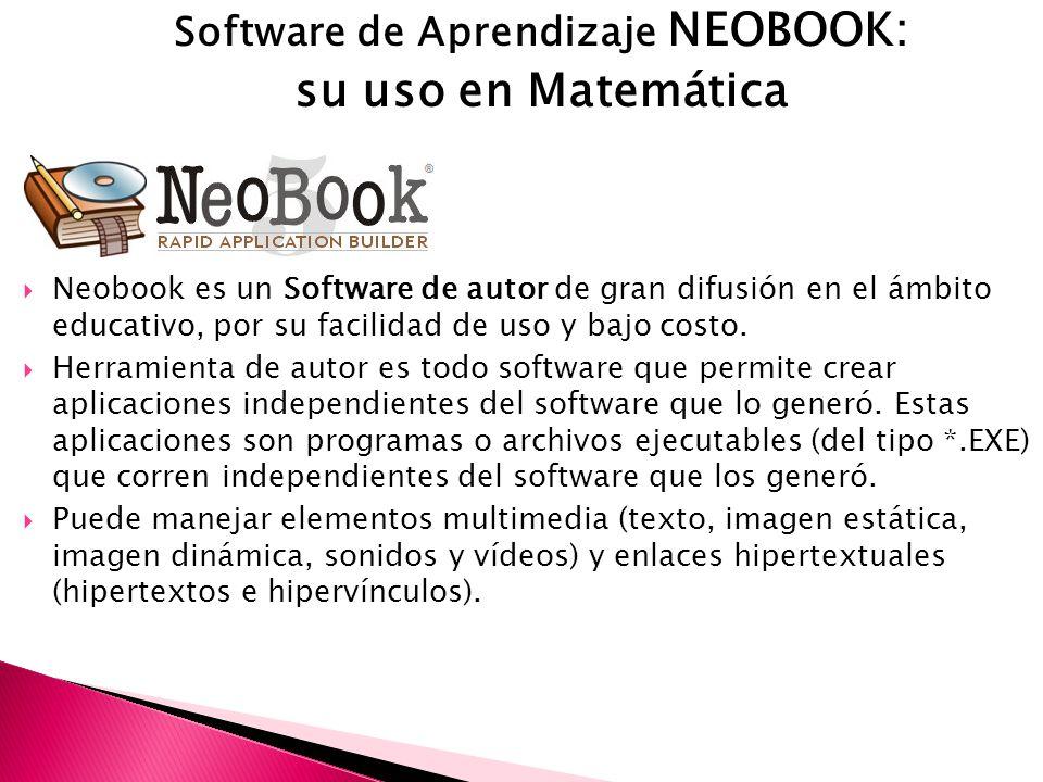 Software de Aprendizaje NEOBOOK: