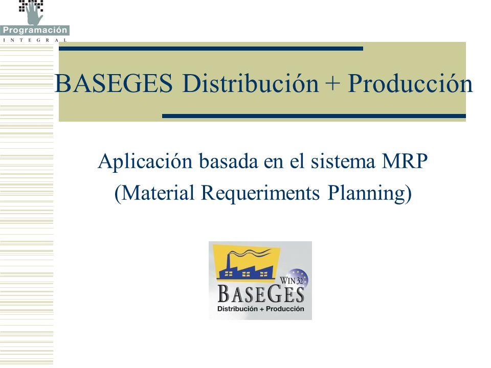 BASEGES Distribución + Producción