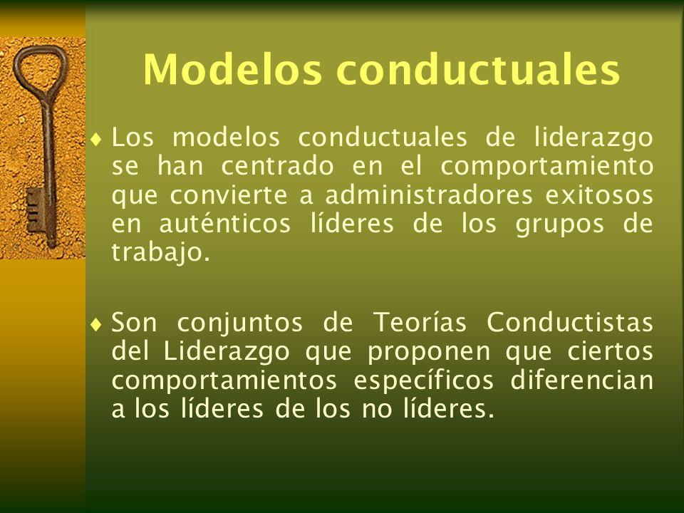 Modelos conductuales