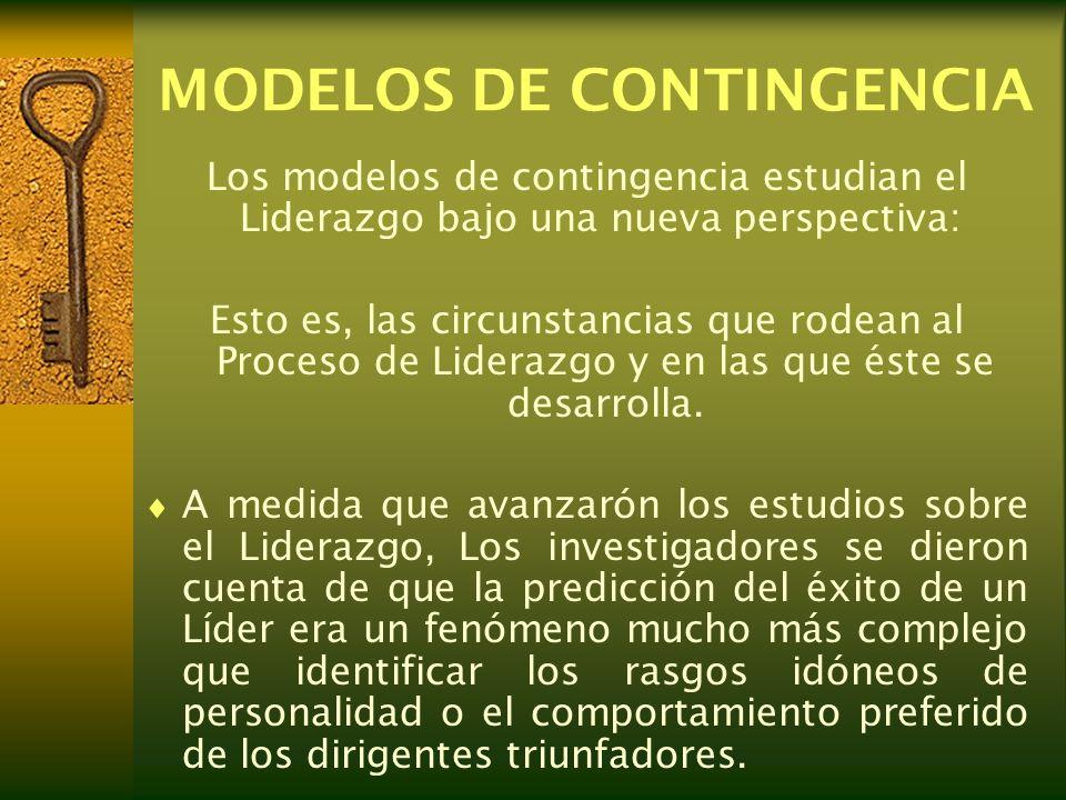 MODELOS DE CONTINGENCIA