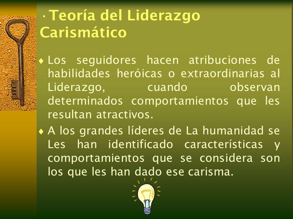 Teoría del Liderazgo Carismático