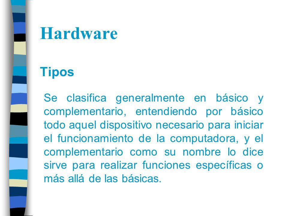 Hardware Tipos.