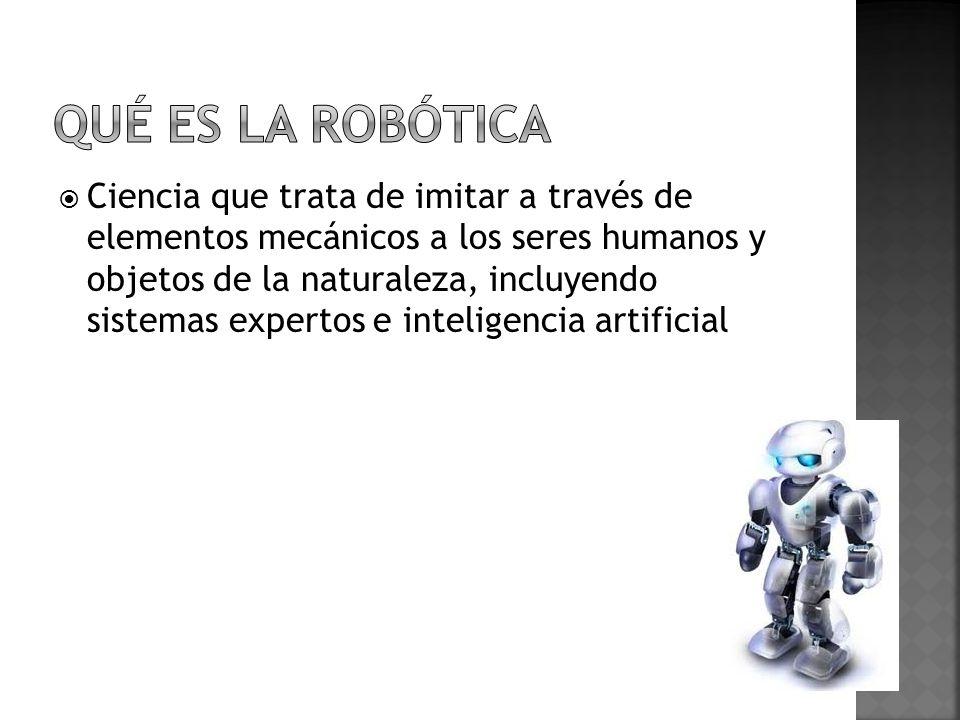 Qué es la robótica
