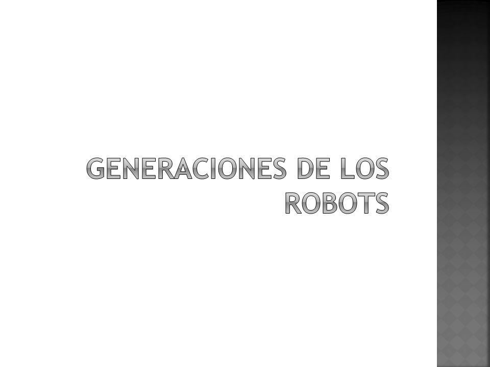 Generaciones de los robots