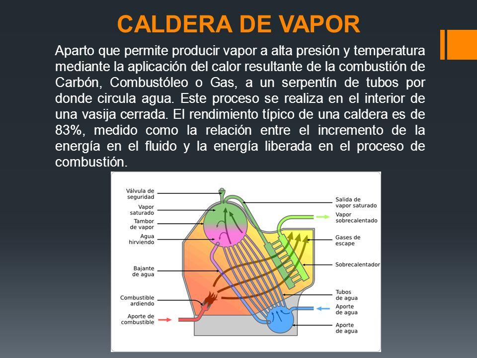 CALDERA DE VAPOR