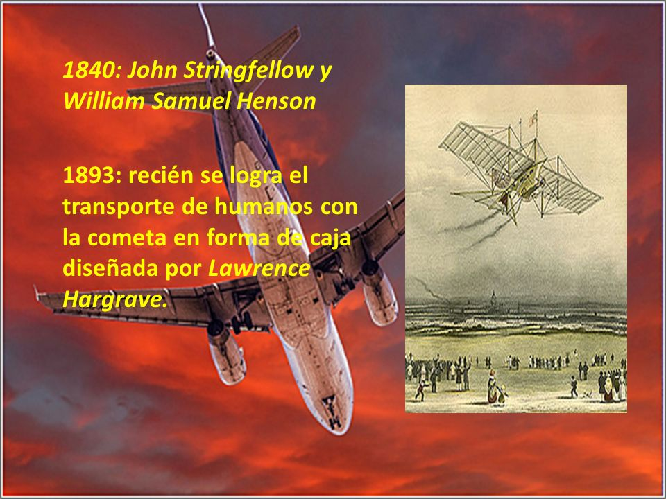1840: John Stringfellow y William Samuel Henson